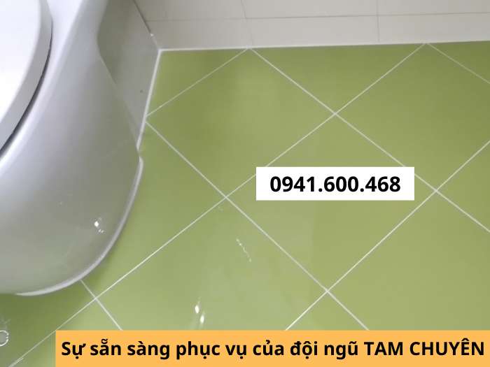 Keo ron chống thấm toilet